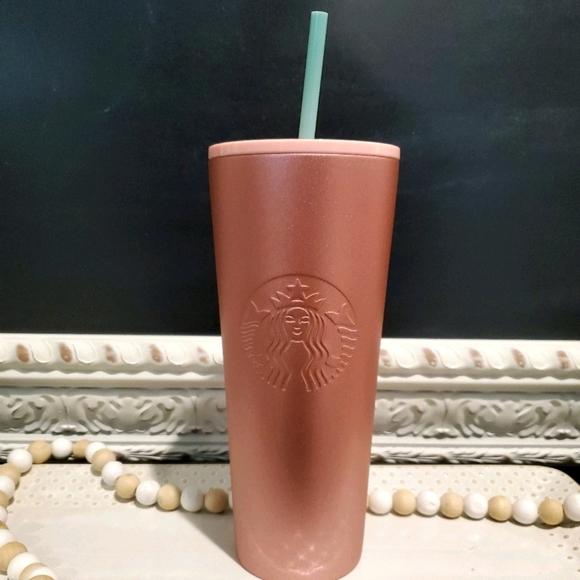 Pink Starbucks Tumbler